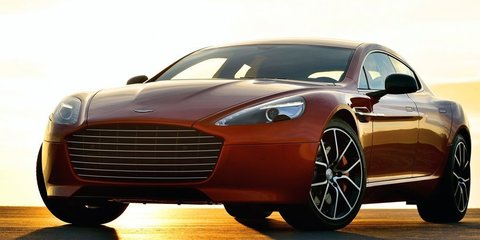 Aston Martin Rapide S: hydrogen version to race at Nurburgring