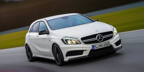 Mercedes-Benz A45 AMG from $74,900