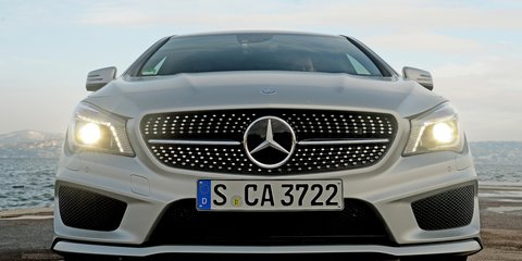 Mercedes benz cla review photos caradvice for Mercedes benz cla 250 top speed