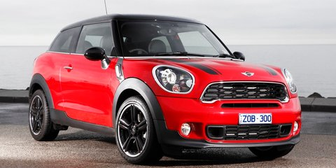 Mini Cooper Paceman launches from $35,900