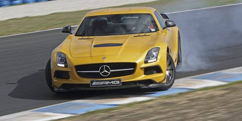 Mercedes-Benz SLS AMG Black Series Review
