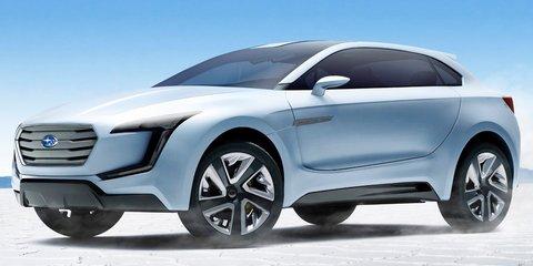 Subaru Viziv concept previews new SUV design language