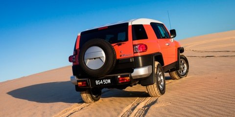 Toyota FJ Cruiser: fuel range extended, 4x4 driving aid added