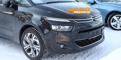 Citroen C4 Picasso: French MPV spied completely undisguised