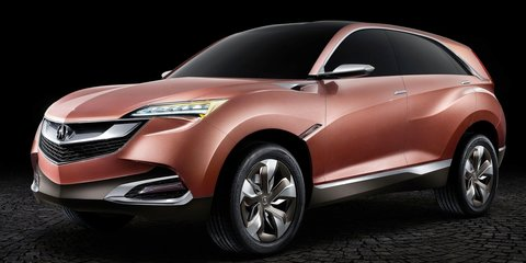 Acura Concept SUV-X: compact SUV headed for Chinese production