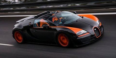 Bugatti Veyron Grand Sport Vitesse: world's fastest roadster at 408.84km/h