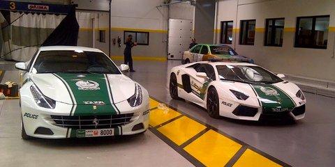 Ferrari FF joins Lamborghini on Dubai Police supercar fleet