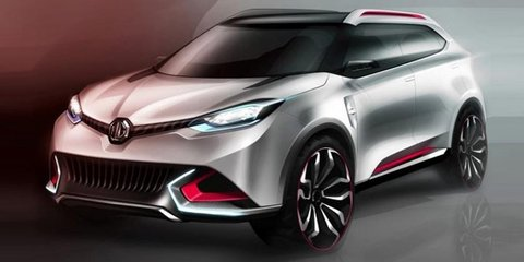 MG CS concept: compact crossover leaked