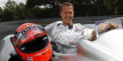 Michael Schumacher to drive Nurburgring in F1 car
