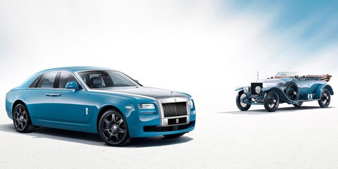 Rolls-Royce Ghost Alpine Trial Centenary Collection launched