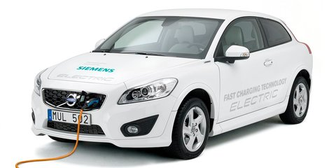 Volvo C30 Electric cuts charge time to 90 minutes
