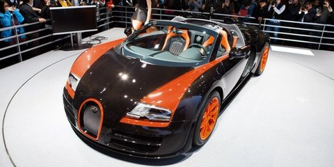 Bugatti Veyron Grand Sport Vitesse World Record Car Edition revealed