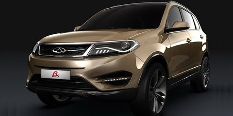 Chery Beta 5: compact SUV concept teased