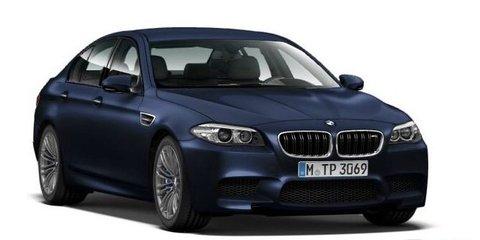 BMW M5: images of facelifted super sedan leaked