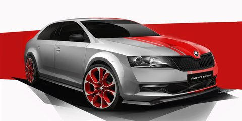 Skoda Rapid Sport concept to debut at Worthersee