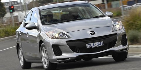 Mazda 3 faces battle to retain sales crown but confident of 2014 win