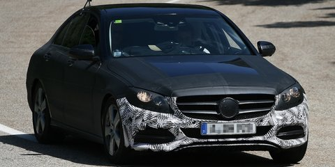 2014 Mercedes-Benz C-Class spied with more detail