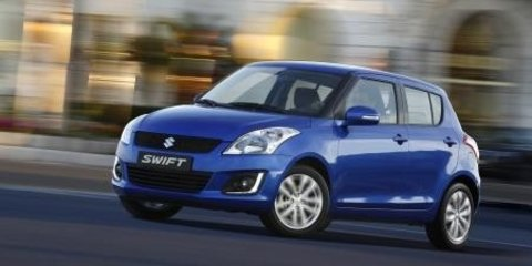 2014 Suzuki Swift: first images leaked