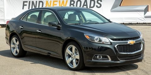 Chevrolet Malibu: new look, more efficient engines, but not destined for Oz