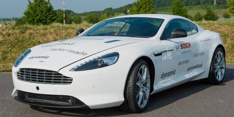 Aston Martin DB9 plug-in hybrid revealed