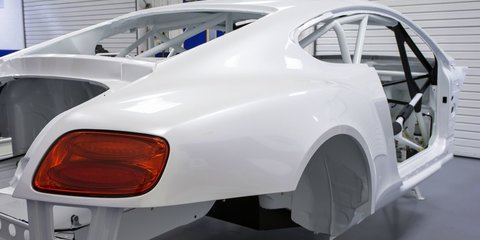 Bentley Continental GT3 almost ready to race