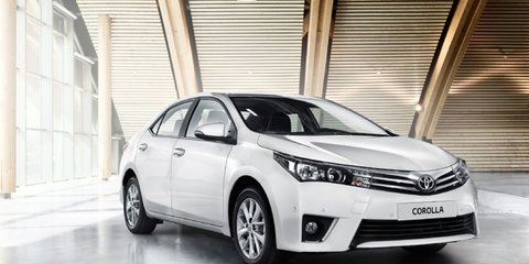 2014 Toyota Corolla sedan unveiled