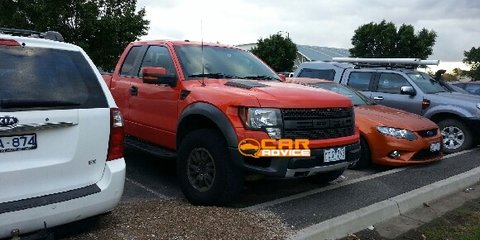 Ford F-150 Raptor SVT spotted testing in Victoria