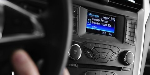 ford sync applink connectivity technology headed for australia photos caradvice. Black Bedroom Furniture Sets. Home Design Ideas