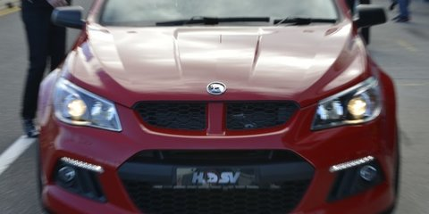 HSV confirms future beyond 2017, looks at Cruze and AWD