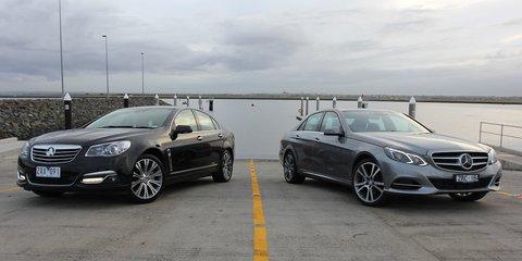 Holden Calais V v Mercedes-Benz E250: Comparison Review