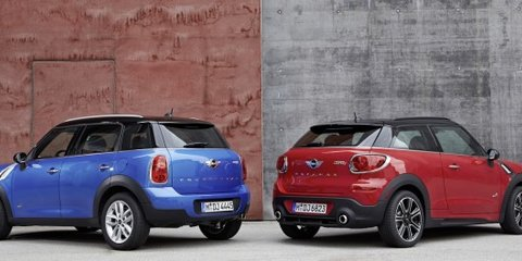 Mini Countryman, Paceman: new Chilli pack part of minor update