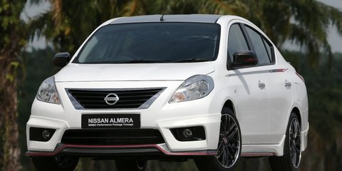 Nissan Almera Nismo Performance Package concept revealed