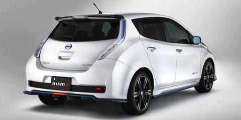 Nissan Leaf Nismo Performance Package released in Japan