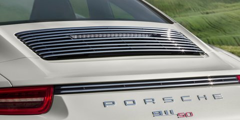 Porsche 911 50 Years Edition to debut at Frankfurt