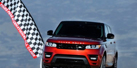 All-new Range Rover Sport sets Pikes Peak record