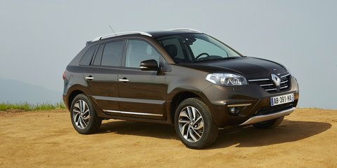 Renault Koleos facelift here in Q4