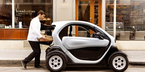 Renault Twizy Cargo: French EV trades rear seat for load capacity