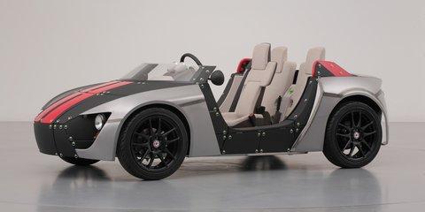 Toyota Camatte57s: toy car concept designed for kids