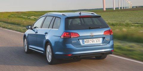Volkswagen Golf wagon: seven-engine line-up, all-wheel drive option
