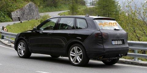 Volkswagen Touareg facelift spied