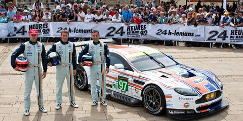 Aston Martin reveals winning Gulf livery for Le Mans