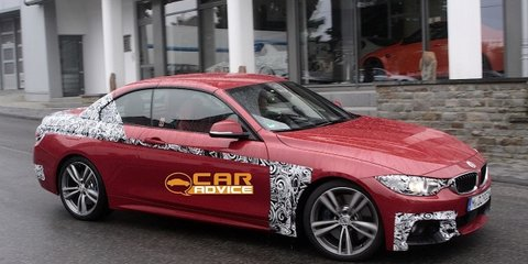 BMW 4 Series Convertible: spy shots reveal M Sport package