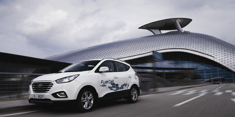 Hyundai ix35 Fuel Cell: Europe's first hydrogen production cars delivered