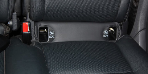 ISOFIX child restraint system approved for use in Australia