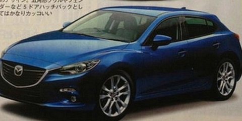 Mazda 3 image leaked ahead of Xbox Live unveiling