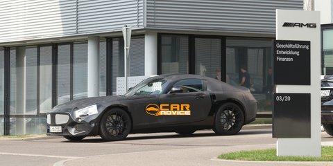 Mercedes-Benz SLS AMG successor hits the streets