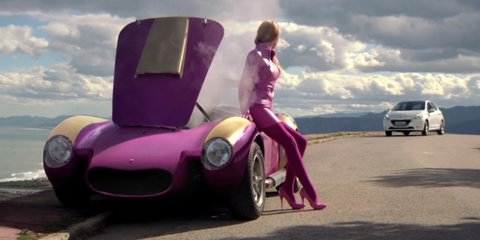 Peugeot 208 stars in Wacky Races commercial