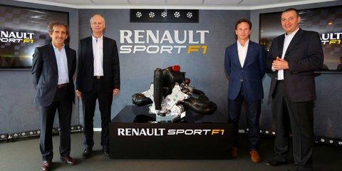 Renault reveals 2014 F1 power unit