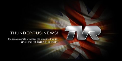 TVR confirms revival plans