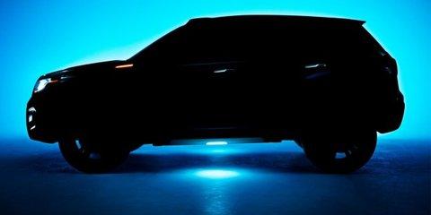 Suzuki iV-4: compact SUV concept teased